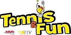 Logo Tennis and Fun